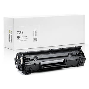 Картридж совместимый Canon 725 (3484B002) Black, 1.600 копий, аналог от Gravitone (GTC-CRG-725-BK)