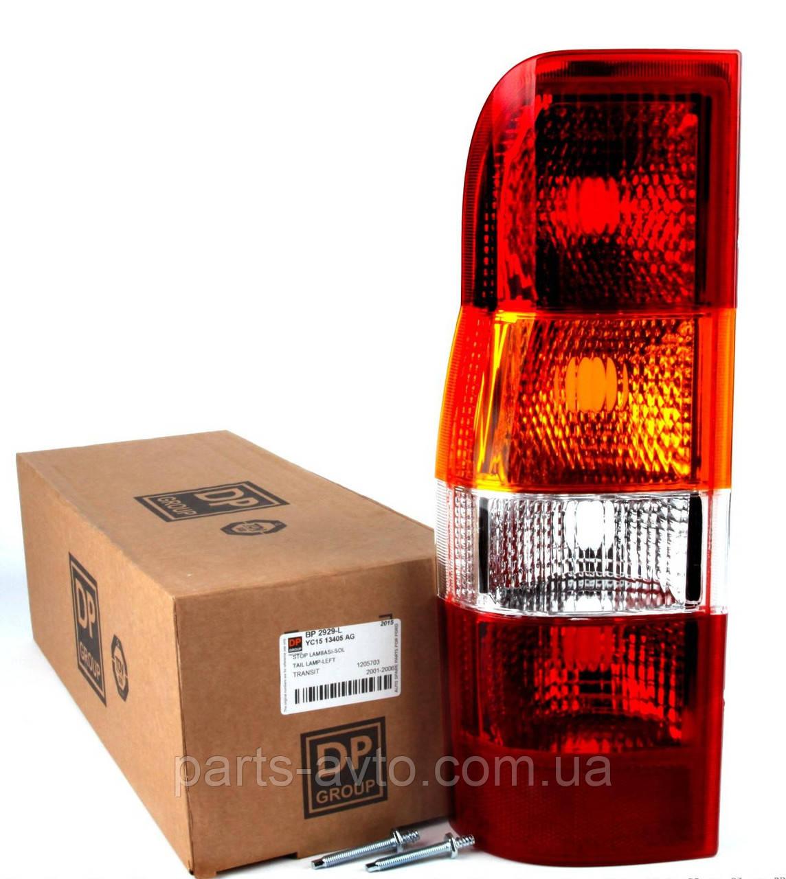 Фонарь задний левый Ford Transit 00-  (без платы) DP  BP 2929-L , 4C1613A603AA