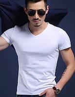 "Мужская футболка 100% Хлопок Марка ""DOOMILAI"" Арт.1826 (белый)"