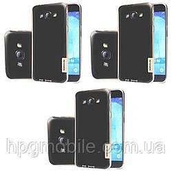 Чехол для Samsung Galaxy A8 A800 (2015) - Nillkin Nature TPU Case, Ultra Slim, силикон