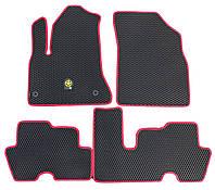 Коврики EVA на Citroen C-4 Picasso 2006-2013. Комплект 5 шт. Черный.