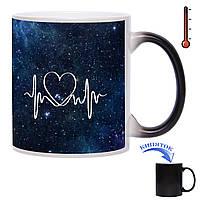 Чашка-хамелеон Пульс Вселенной 330 мл