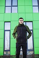 "Куртка мужская фирменная Pobedov "" Valeriyskaya stal' "" Black-Green"