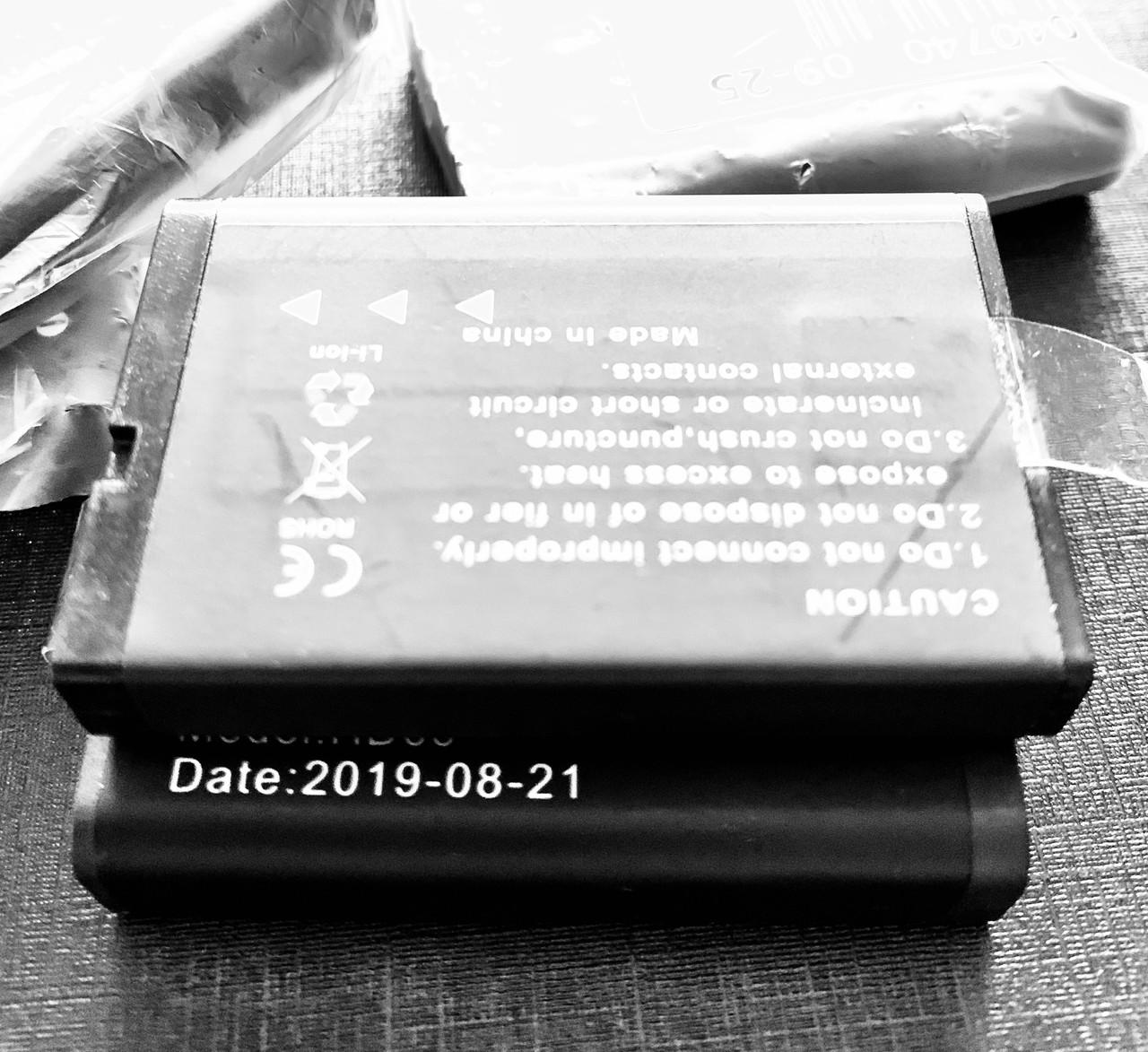 Аккумулятор для  Protect R-02A  для нагрудного видеорегистратора