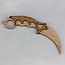 """Нож деревянный """"Керамбит"""" из игры Counter-Strike, фото 4"""