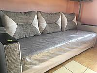 Прямой диван Кама Провентус Комфорт 230x93 см Серый, фото 1