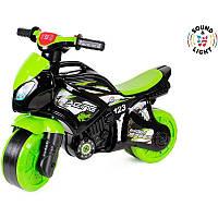 "Детский толокар-мотоцикл ""Технок"" со светом и звуком"