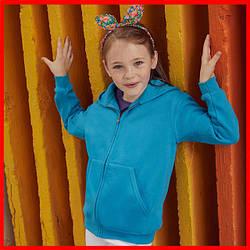 Дитяча класична сорочка-толстовка з капюшоном
