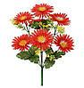 Букет штучних квітів Хризантема з травичкою , 35 см