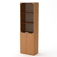 Шкаф книжный КШ-6 бук  (60х37х195 см)