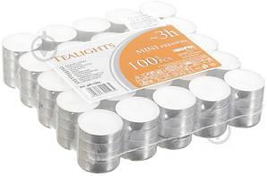 Свечи таблетки чайные 3 часа горения премиум качества BISPOL® 100 шт.
