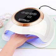 УФ LED лампа для сушки гель-лака и шеллака SUN H9 Plus Max60W с LCD дисплеем
