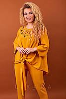 Костюм женский нарядный большого размера, фото 1