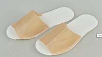 Тапочки одноразовые Panni Mlada, крем (36-40) 25 пар