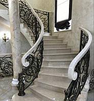 Классическая мраморная лестница, фото 1