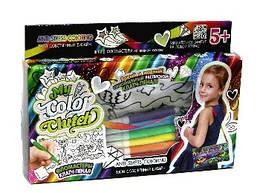 """Набор для творчества """"My Color Clutch"""", 3 в 1: клатч пенал раскраска Совушки"""