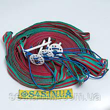 Розмітка майданчика для пляжного волейболу «ТРАНЗИТ» червоно-зелена
