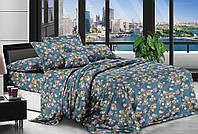 Стильное двуспальное постельное бельё.