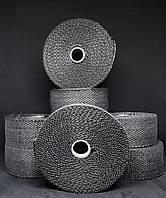 Термобинт (Термолента) черная ( размеры 50мм x 2мм 10м)