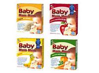 Сухарики рисовые в ассортименте, 24 сухарика (50 г), Hot Kid, Baby Mum-Mum, США