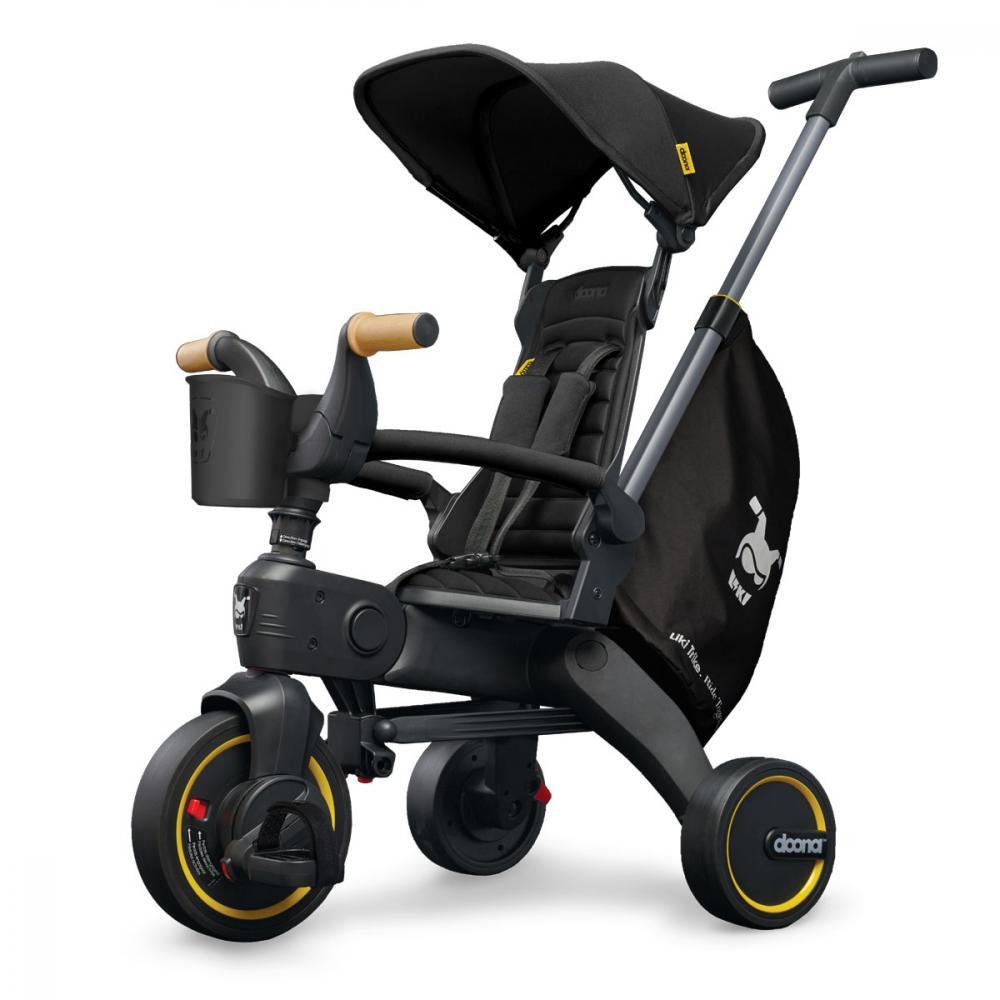 Детский трехколесный велосипед Liki Trike S5 черный Doona DN550-99-033-025