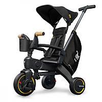 Детский трехколесный велосипед Liki Trike S5 черный Doona DN550-99-033-025, фото 1