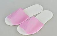 Тапочки одноразовые Panni Mlada, малиновый (36-40) 25 пар