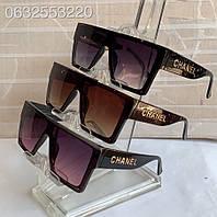 Женские солнцезащитные очки маска CHANEL