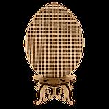 Заготівля для вишивки великоднього яйця нитками по дереву FLHW-021, фото 2