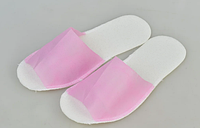 Тапочки одноразовые Panni Mlada, розовые (36-40) 25 пар