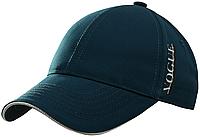 Бейсболка VOGUE аппликация глиттер (серебро) бордо