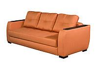 """Прямой диван  раскладной для ежедневного сна с накладками МДФ  """"ЛОНДОН""""  в наличии"""
