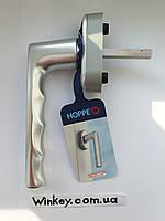 Ручка оконная Hoppe Нamburg SecuForte серебро оигинал Германия, фото 1