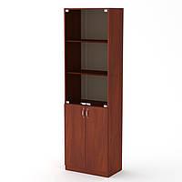 Шкаф книжный КШ-6 яблоня (60х37х195 см)