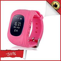 Детские умные часы smart baby watch q50 с gps трекером. Детские умные часы