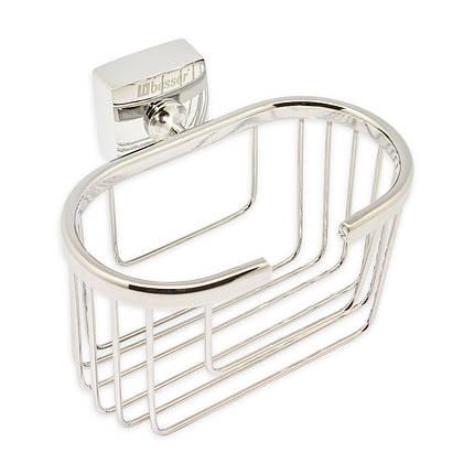 Корзинка для ванной Besser овальная 14*11*10.5см, фото 2