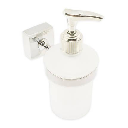 Дозатор для жидкого мыла Besser 7*11.5*15.5см, фото 2