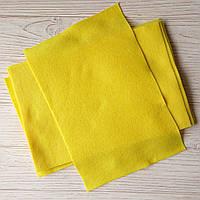 Фетр мягкий 1.3 мм, Royal Тайвань желтый 20*30 см