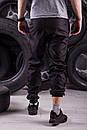 Спортивні штани чорні (Найк), фото 2