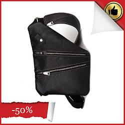 Мужская сумка Cross Body кожа (черная)
