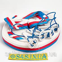 Розмітка майданчика для пляжного волейболу «СТАНДАРТ» червоно-біло-синя