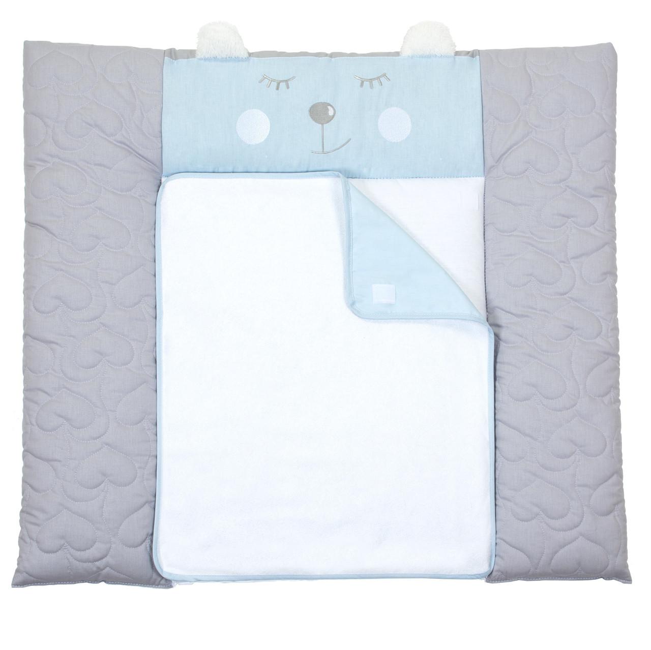 Пеленальный матрас для новорожденных тканевый Veres Lovely boy