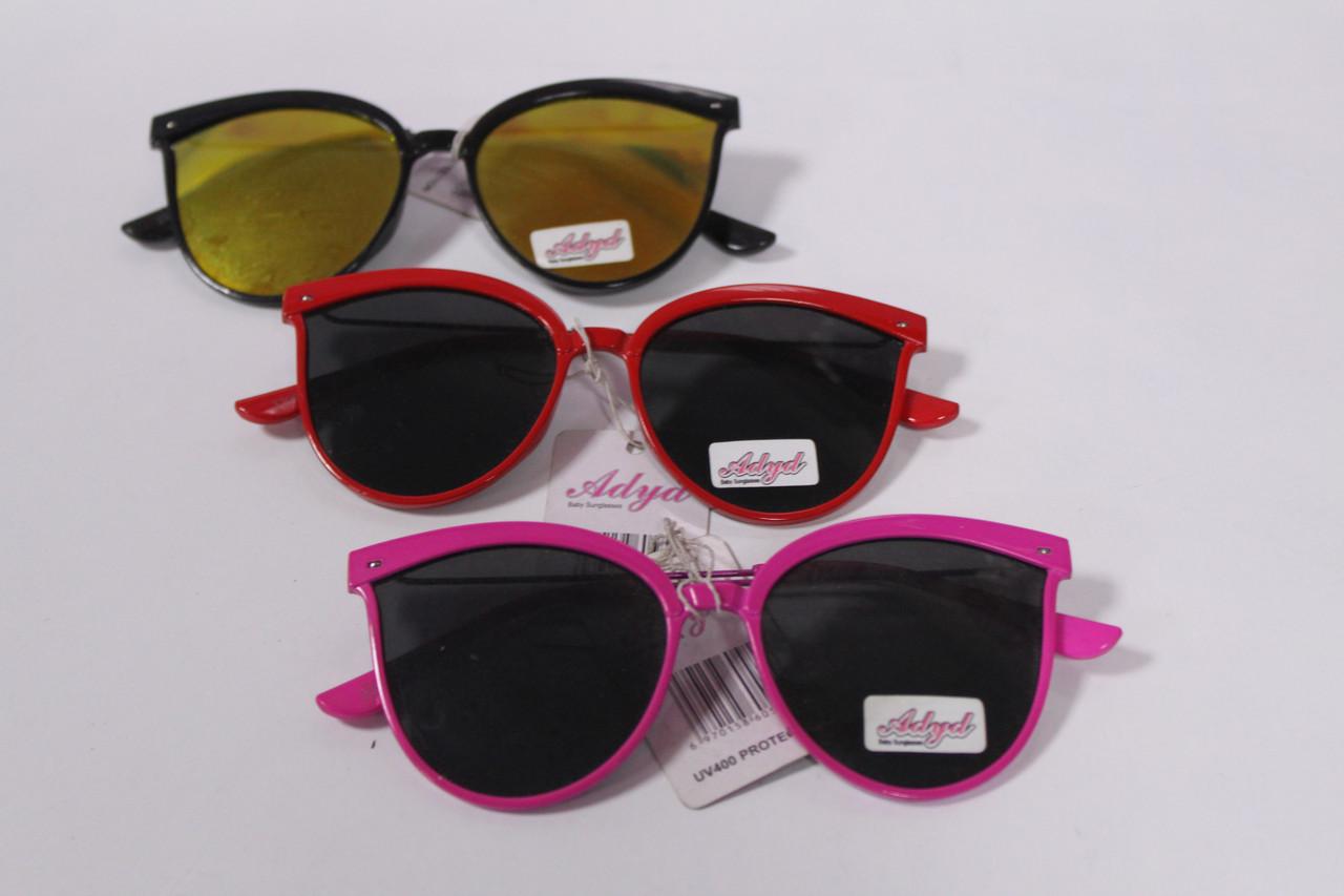 Детские солнцезащитные очки металлическая оправа 1 шт