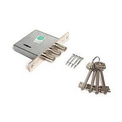 Замок врезной Гардиан 10.01, 4 ключа, без накладок и ответной планки