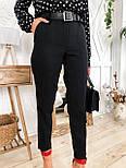 Жіночий брючний костюм: сорочка в горох і штани, фото 5