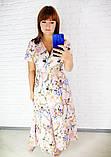 Легкое летнее женское платье,размеры:48,50,52,54., фото 2