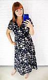 Легкое летнее женское платье,размеры:48,50,52,54., фото 3
