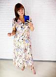Легкое летнее женское платье,размеры:48,50,52,54., фото 4