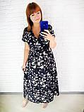 Легкое летнее женское платье,размеры:48,50,52,54., фото 5