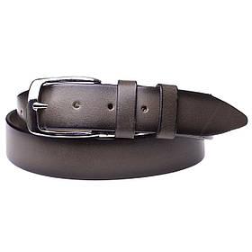 Натуральная кожаный мужской ремень JK капучино (MC352170101)